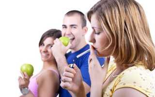Продукты помогающие бросить курить, диета