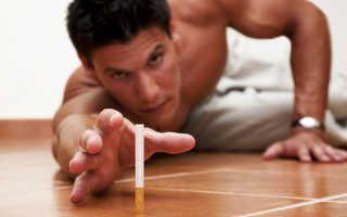 Проявление абстинентного синдрома при отказе от курения