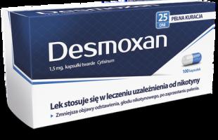 Desmoxan — эффективное средство в борьбе с курением