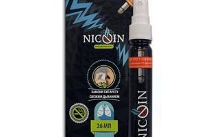 Эффективность спрея Nicoin против курения