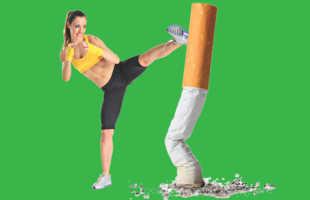Почему при отказе от сигарет женщины могут поправиться