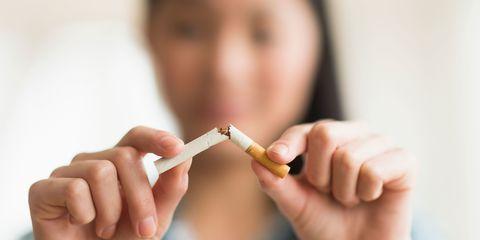 Изменения в организме женщины после отказа от курения