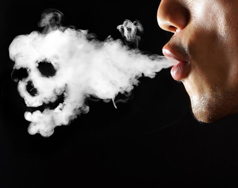 Курение убивает, смертельная привычка человека